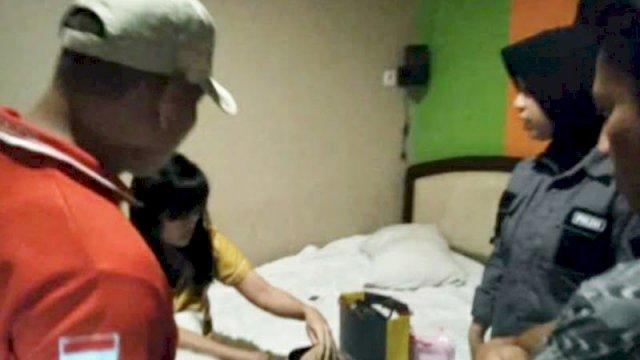 Tujuh Pasangan Mesum Diamankan Usai Polisi
