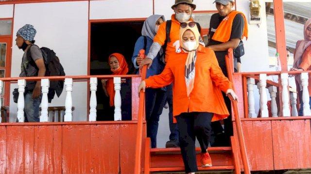 Calon Wakil Walikota Makassar Nomor urut 1 Fatmawati Rusdi Masse