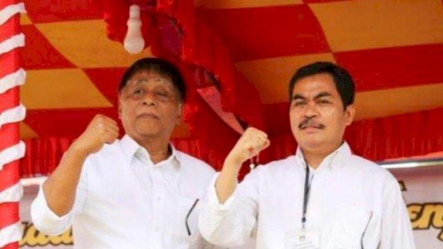 Pasangan Calon Bupati dan Wakil Bupati Tana Toraja Yang di Tetapkan sebagai pemenang Pada Pilkada Tator oleh KPU