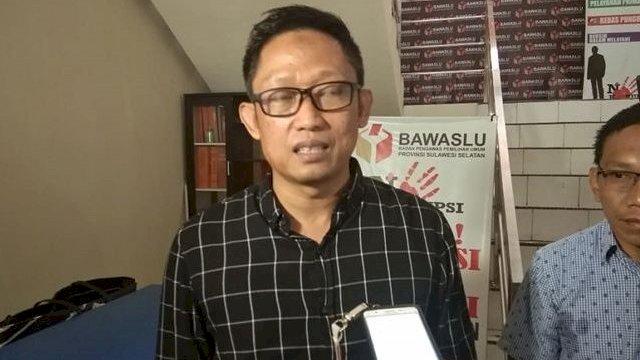 Asry Yusuf Anggota Bawaslu Sulsel Divisi Hukum