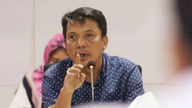 Anggota DPRD Kota Makassar, Wahab Tahir (WT), Sabtu (23/1) || Dok: Ltf/Trotoar