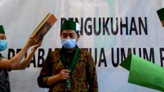 Pj Ketua Umum PB HMI, Abdul Muis Amiruddin.