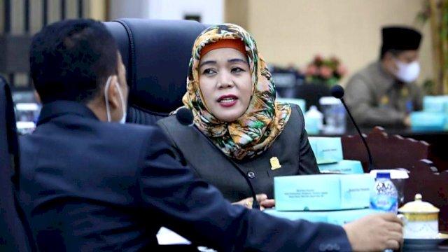 Anggota DPRD Kota Makassar, Nurul Hidayat, Rabu (3/2) | trotoar.id