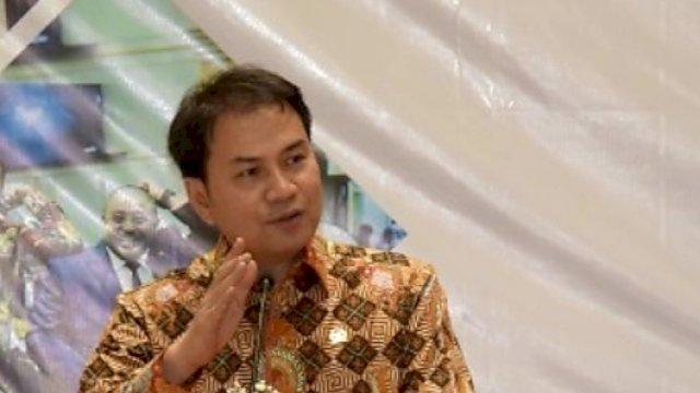 Wakil Ketua DPR RI Koordinator Bidang Politik dan Keamanan (Korpolkam) M. Azis Syamsuddin.