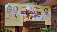 Buka Musda Toraja Utara, TP Paparkan Paradigma Golkar Baru