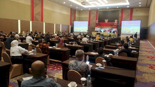 BPK dan KPK Isi Materi Workshop 85 Anggota DPRD Sulsel