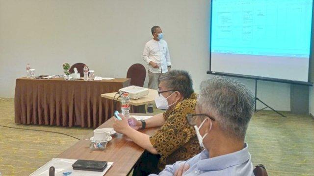 ketua Tim Transisi Danny-Fatma Prof Yusran Jusuf Memaparkan Konsep Perencanaan Penanganan Covid-19 di Kota Makassar