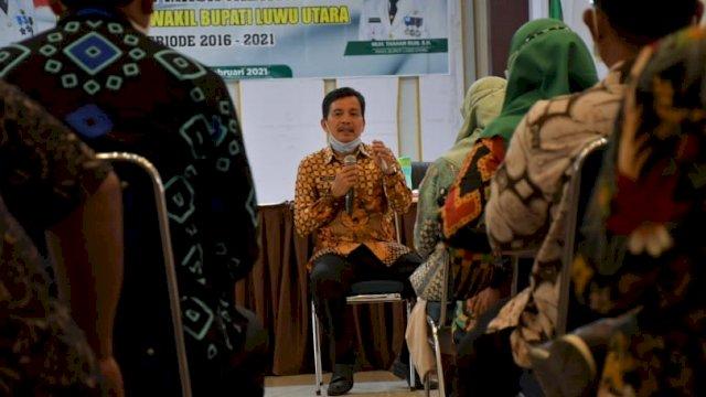PLH Bupati Luwu Utara Armiadi Menggelar Rapat bersama Dengan Pimpinan OPD Lutra