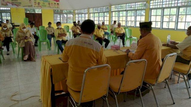 Marzuki Wadeng Memimpin Rapat Koordinasi DPD II Golkar Wajo