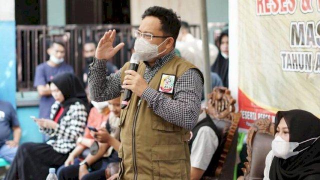 Wakil Ketua DPRD Sulsel, Darmawangsyah Muin Melakukan reses di Hadapan Ratusan Warga Kecamatan Palangga