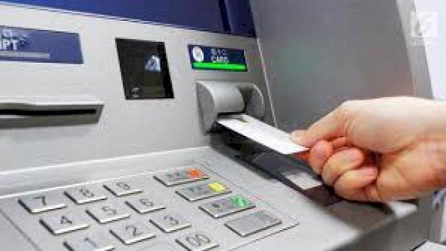 Mesin ATM (ilustrasi)