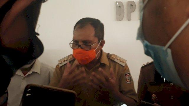 Walikota Makassar Danny Pomanto, saat ditemui di Gedung DPRD Kota Makassar, Selasa (2/3). | Al/trotoar.id