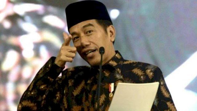 Jokowi Hadiri Kongres HMI di Ambon, 14 Februari 2018. (Foto: Dok. Biro Pers Setpres)