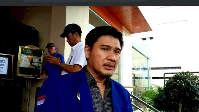 Ketua DPC Partai Demokrat Makassar, Adi Rasyid Ali.
