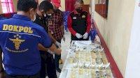 Kapolres Gowa Tes Urine Mendadak Puluhan Anggotanya