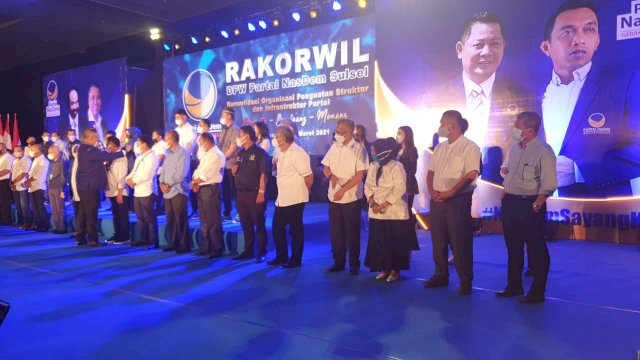 Pasca NA Ditangkap KPK, Wabup PDIP Loncat Ke Nasdem