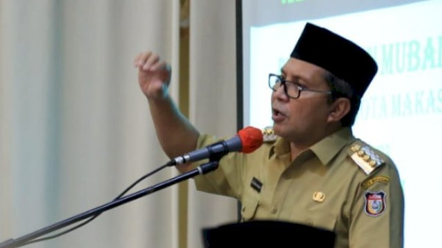 Wali Kota Makassar, Danny Pomanto.