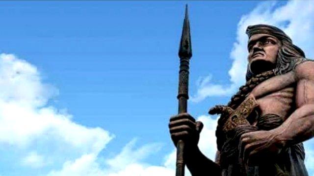 Patung Arung Palakka.