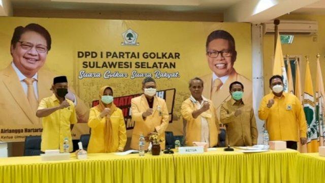 Maju Ketua Golkar Sinjai, TP Uji Kelayakan Kartini Ottong di Kantor DPD I Golkar Sulsel