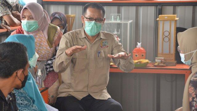 Tim penilai atau verifikasi KKS dan ODF menyambangi Kabupaten Sinjai, Kamis (1/4/2021)