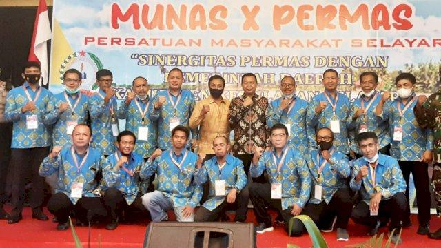Deng Ical Terpilih Jabat Ketum DPP PERMAS 2021-2025