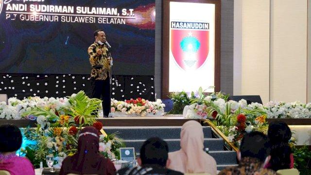 Plt Gubernur Sulsel, Andi Sudirman Sulaiman. (trotoar.id)