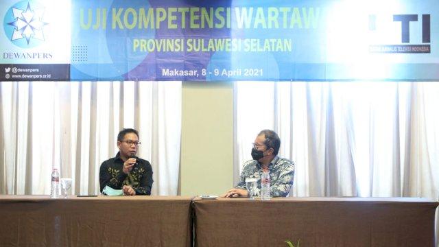 Narasumber UKW, Danny Sebut Media Ikut Sukseskan Makassar Recover