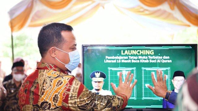 Launching Pembelajaran Tatap Muka Terbatas, Plt Gubernur Sulsel Tinjau dan Bincang Bersama Siswa di SMAN 21 Makassar