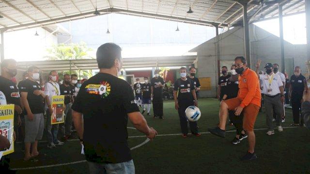 Danny Buka Liga Futsal IKA SMANSA Makassar