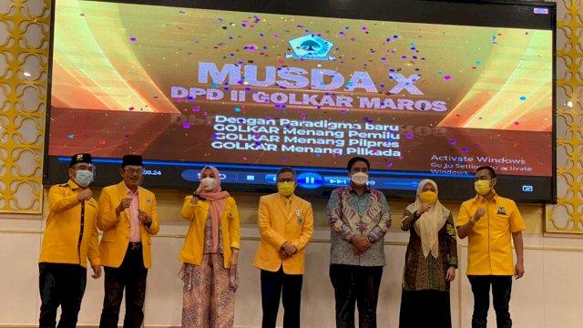 Dibuka TP, Musda Golkar Maros Akan Tetapkan Suhartina Sebagai Ketua