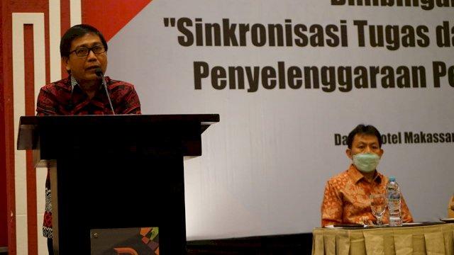 Ikut Bimtek Sinkronisasi, BPD dan Kepala Desa Diharap Bersinergi Layani Masyarakat