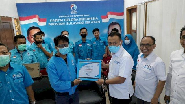 Partai Gelora Makassar Akan Rekrut 5000 orang Anggota Baru