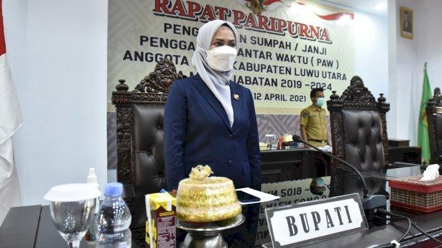 Sempat Tertunda, I Wayan Suta Resmi Jadi Anggota PAW DPRD Luwu Utara