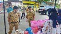 Bupati dan Wabup Hadiri Pembukaan Pasar Ramadan