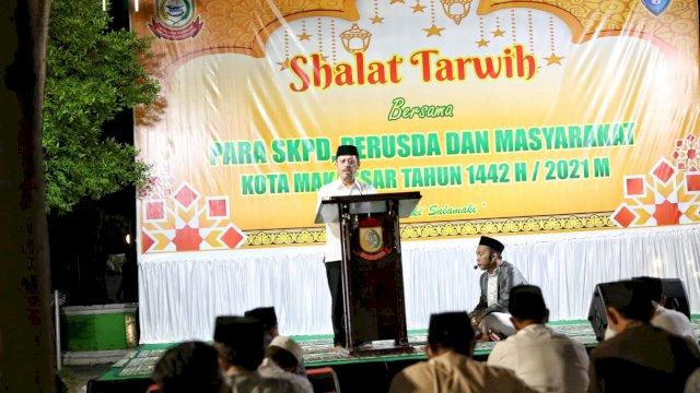 Safari Ramadhan, Sekda Kota Makassar Ajak Masyarakat Jadi Motivator Makassar Recover