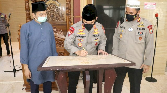 Kapolda Sulsel Sambut 1 SSK Personel Brimob Polda Sulsel BKO Polda Papua