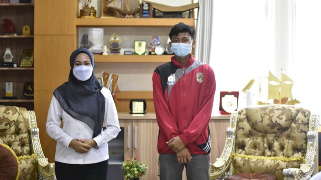 Muh Arham Darmawan Talenta Muda Dari Luwu Dipanggil Seleksi Timnas U-16 di Jakarta