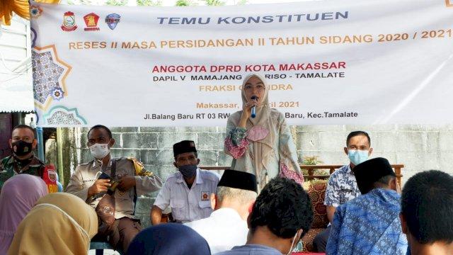 Budi Hastuti Tatap Muka Bersama Warga Bahas soal Infrastruktur Jalan