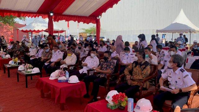 Bupati Muchtar Ali Yusuf Hadiri Peresmian KMP Takabonerate