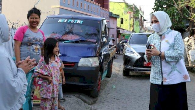 Fatmawati Rusdi Pastikan Bantuan Korban Kebakaran Bontoduri Terpenuhi