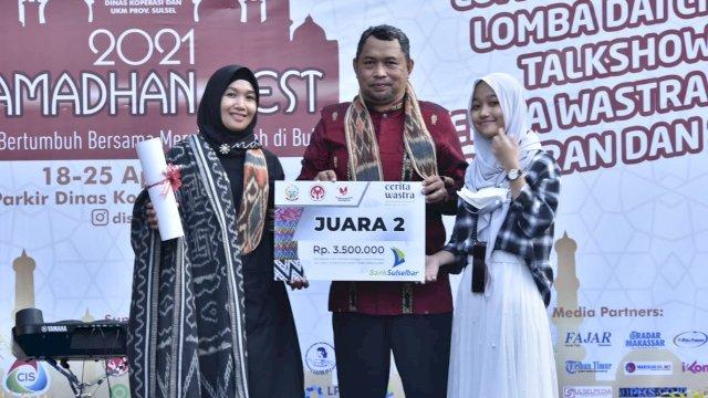 Kain Tenun Rongkong Wakili Sulsel Lomba Cerita Warisan Tradisional Nusantara Tingkat Nasional