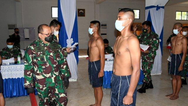 TNI AL Rekrut 250 Calon Bintara dan Tamtama PK TNI AL TA. 2021 Untuk Satdik-2 Makassar
