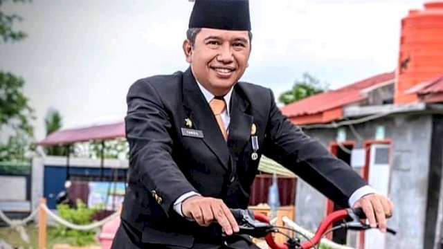 Kadis Kominfo dan Persandian Sinjai, Tamzil Binawan. (Irsan/Trotoar.id)