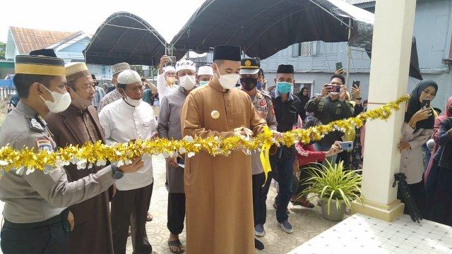 Wujudkan Pangkep Religius, Bupati Resmikan Rumah Yatim dan Pondok Tahfiz Al-Hilal