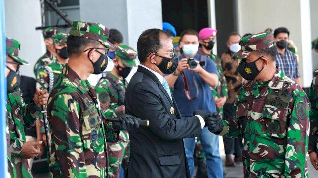 Hadiri Pembukaan Pendidikan Pertama Bintara dan Tamtama TNI AL, Danny: Calon Prajurit Tangguh Indonesia