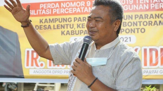 Anggota DPRD Sulsel Arfandi Idrus Menggelar sosialisasi Peraturan Daerah