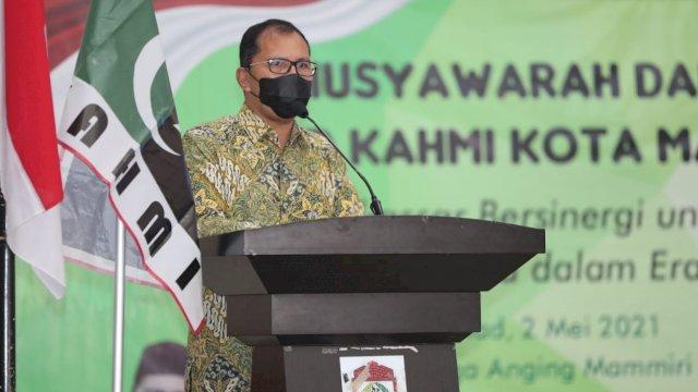 Wali Kota Makassar Mohammad Ramdhan Danny Pomanto