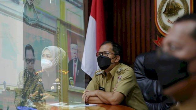 Antisipasi Lonjakan Covid-19 Jelang Lebaran, DP Hadiri Rakor Bersama Mendagri