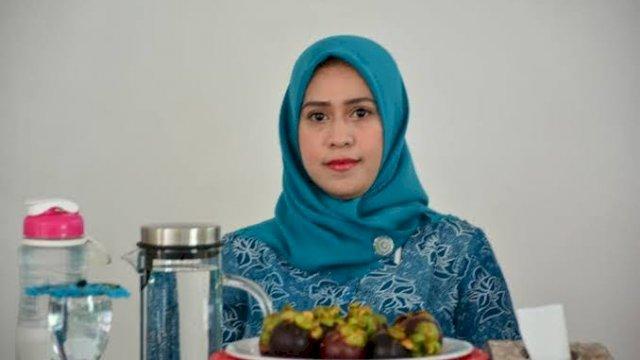 Ketua PMI Kabupaten Sinjai Hj. A. Nurhilda Daramata Seto.