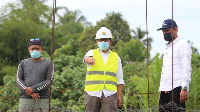 Respon Cepat Suaib Mansur, Tinjau Kerusakan Jembatan Gantung Penghubung Desa Pongo – Bulumpore